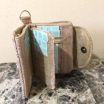 Inside of Cheryl's Layla Essentials Purse - Andrie Designs