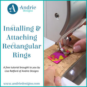 Installing & Attaching Rectangular Rings - Andrie Designs