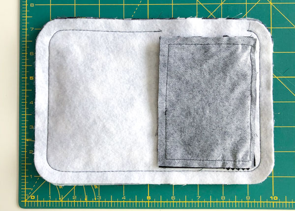 Layers stitched - Layla Made Easy - Andrie Designs