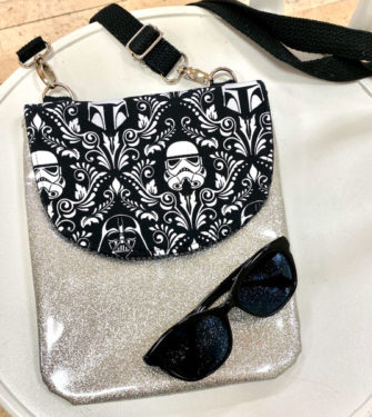 Hello Star Wars! Polly Cross Body Pouch - Andrie Designs