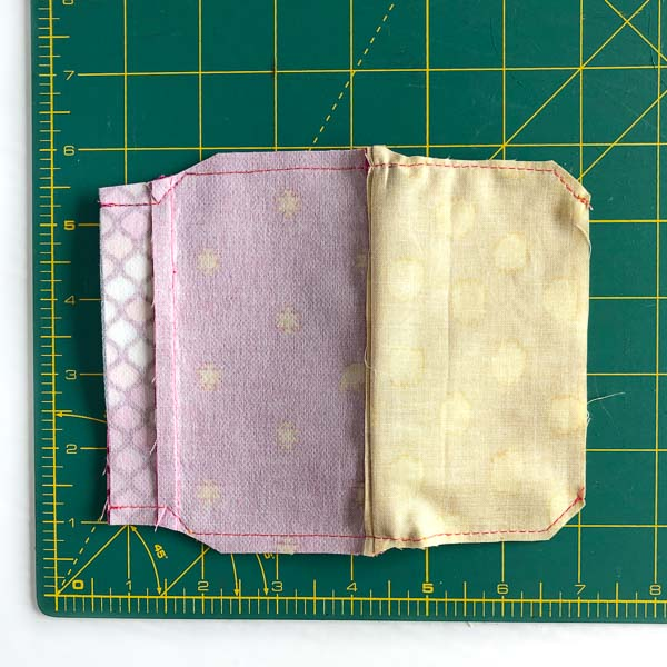 Lining trimmed more - Layla Coin Pouch - Andrie Designs