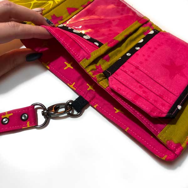 Notes pocket on Aimee's Layla Essentials Purse - Andrie Designs
