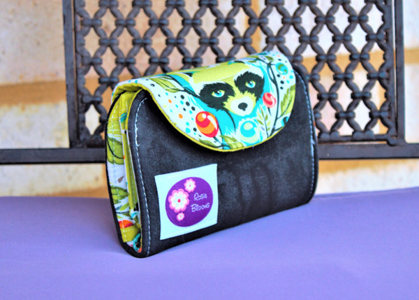 Rosemarie's Tula Pink Layla Essentials Purse - Andrie Designs