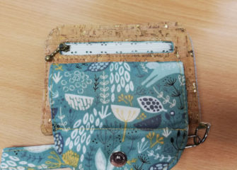 Zipper Pocket of Stacey's Layla Essentials Purse - Andrie Designs