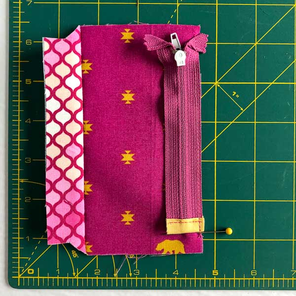 Zipper sewn - Layla Coin Pouch - Andrie Designs