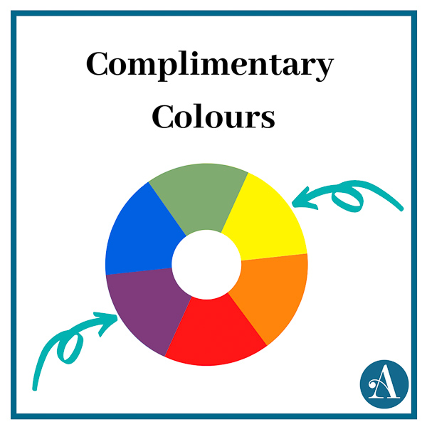 Complimentary Colours - Picking Fabrics - Andrie Designs