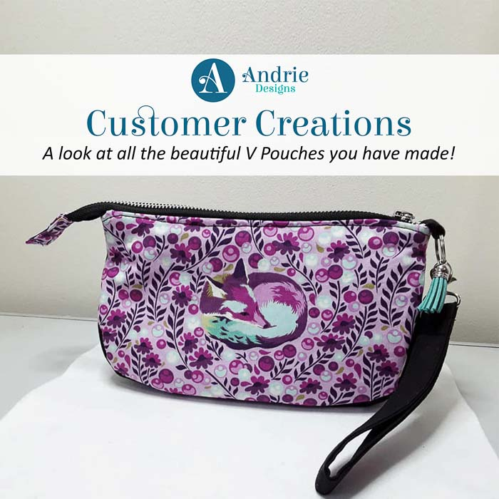 Customer Creations - V Pouch - Andrie Designs