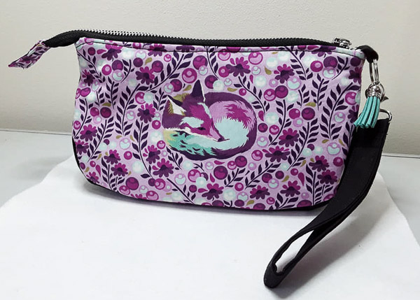 Jo G's Tula Pink V Pouch - Customer Creations - V Pouch - Andrie Designs