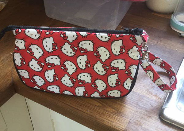 Jo W's Hello Kitty V Pouch - Customer Creations - V Pouch - Andrie Designs
