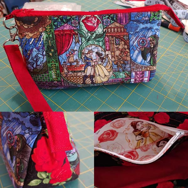 Karina's Beauty and the Beast V Pouch - Customer Creations - V Pouch - Andrie Designs