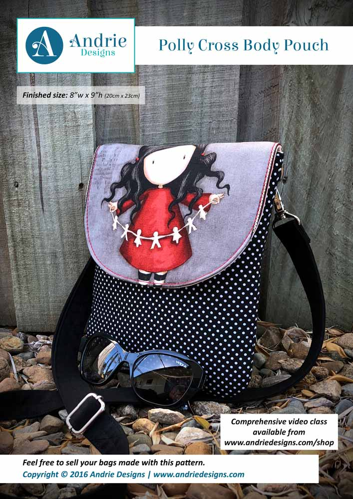Polly Cross Body Pouch - Andrie Designs