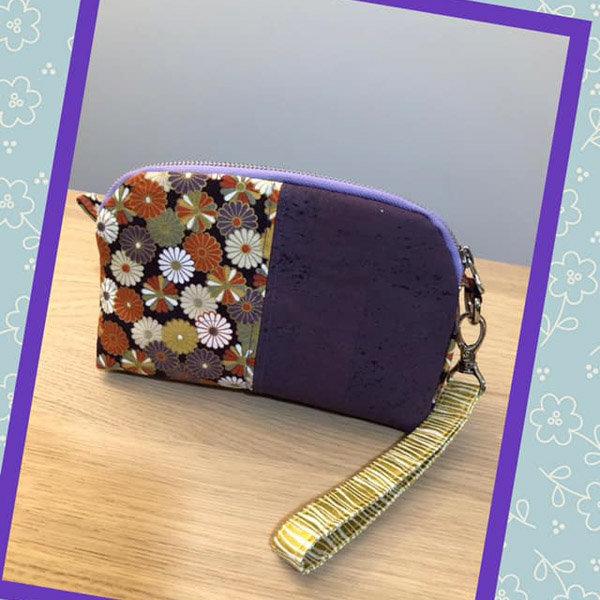 Jayne's Floral Gemma - Customer Creations - Gemma Carryall Pouch- Andrie Designs