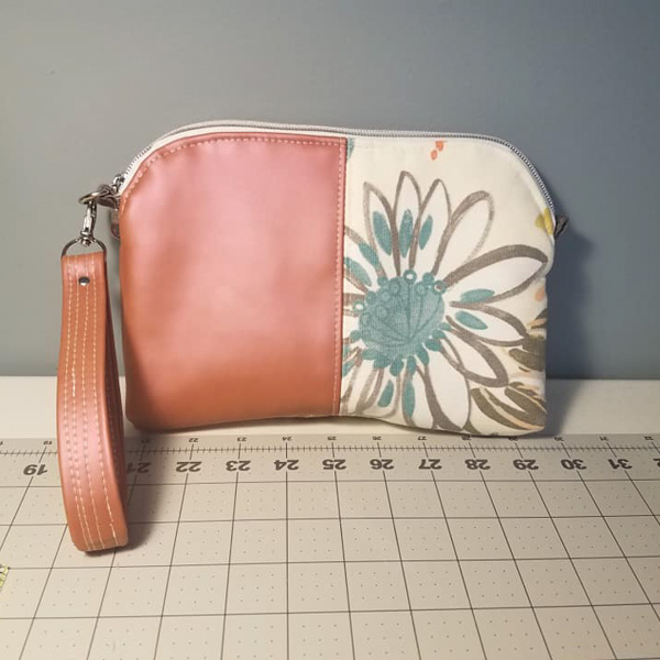 Katies vinyl Gemma -Customer Creations - Gemma Carryall Pouch- Andrie Designs