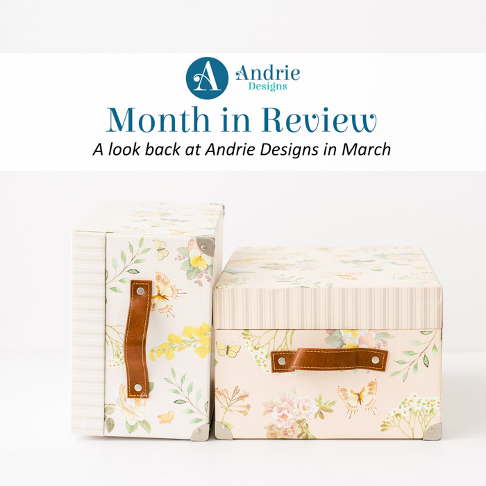 Month in Review - March 2020 - Andrie Designs