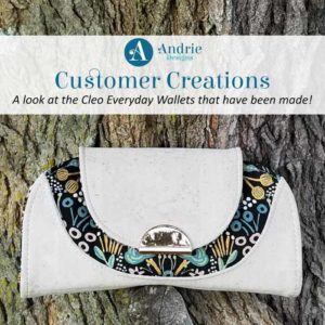 Customer Creations - Cleo Everyday Wallet - Andrie Designs