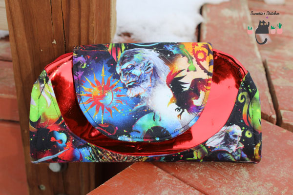 Lawanda's Colourful wallet - Customer Creations - Cleo Everyday Wallet - Andrie Designs