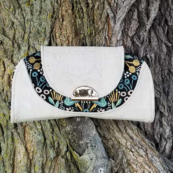 Noelle's White Cleo - Customer Creations - Cleo Everyday Wallet - Andrie Designs