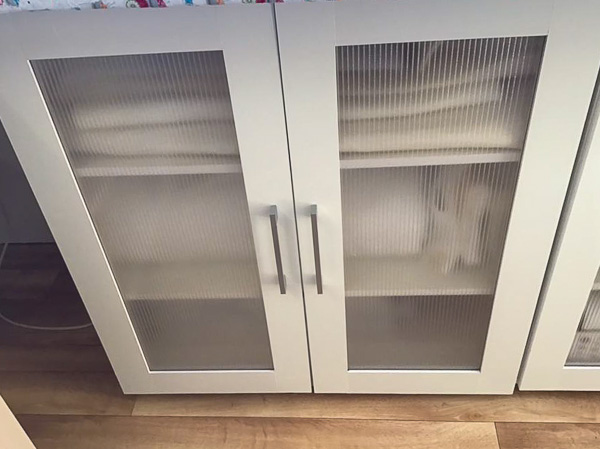 Rosemarie's Cabinet storage - Storing Interfacing and Stabilisers - Andrie Designs