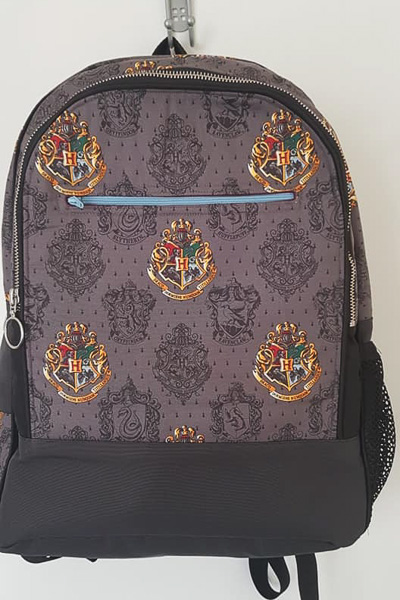Brookes Harry Potter Backpack - Customer Creations - Adventure Time Backpack - Andrie Designs