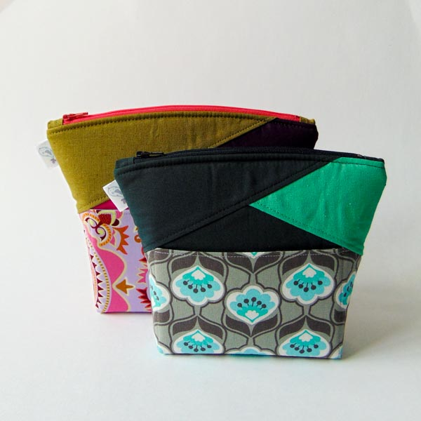 Works for Every Size - Stand Up Clutch Gets Zipped - Andrie Designs