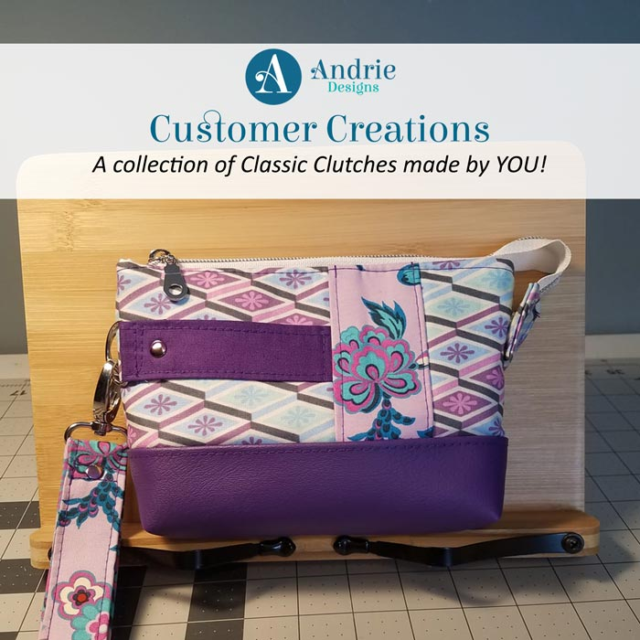 Customer Creations - Classic Clutch - Andrie Designs