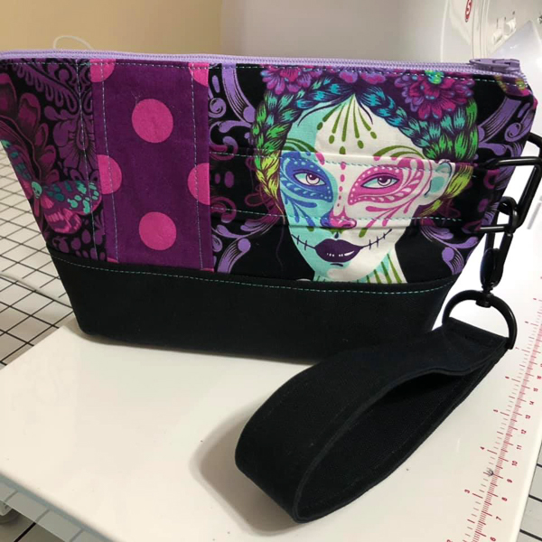 Front of Shauna's Classic Clutch - Customer Creations - Classic Clutch - Andrie Designs