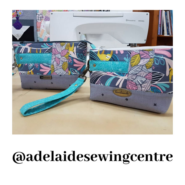 adelaidesewingcentre - Customer Creations - Classic Clutch - Andrie Designs