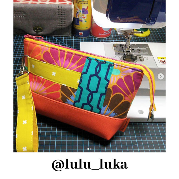 lulu_luka - Customer Creations - Classic Clutch - Andrie Designs