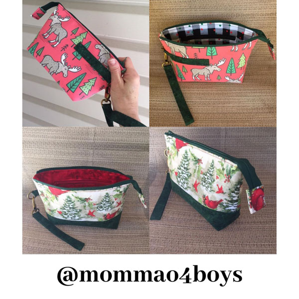 mommao4boys - Customer Creations - Classic Clutch - Andrie Designs