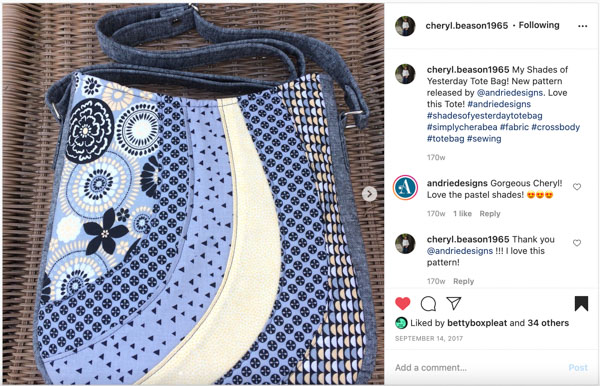 Instagram 10 - Customer Creations - Mini Shades & Shades of Yesterday - Andrie Designs