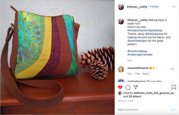Instagram 5 - Customer Creations - Mini Shades & Shades of Yesterday - Andrie Designs