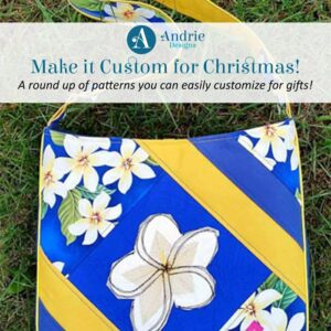 Make it Custom for Christmas - Andrie Designs