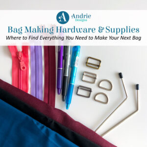 Bag Making Hardware and Supplies - Andrie Designs