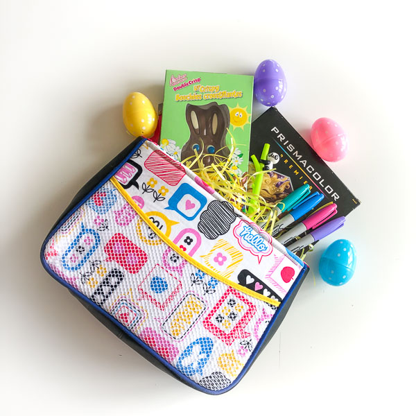 Carry All Flexi Clutch - Handmade Easter Baskets - Andrie Designs