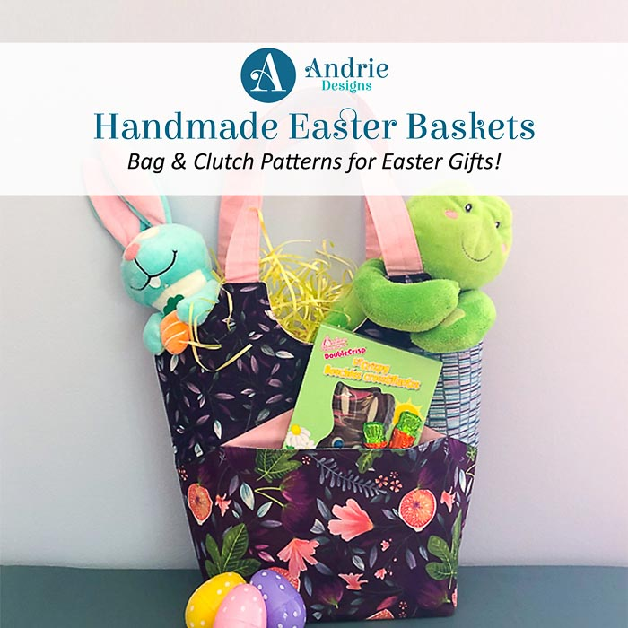 Handmade Easter Baskets - Andrie Designs