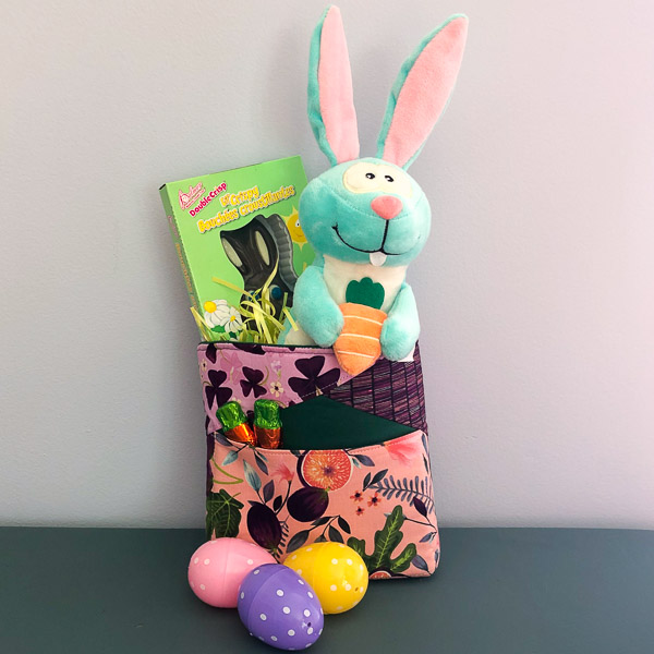 Stand Up Clutch - Handmade Easter Baskets - Andrie Designs