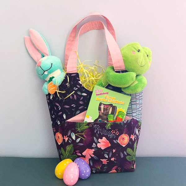 Stand Up Tote - Handmade Easter Baskets - Andrie Designs