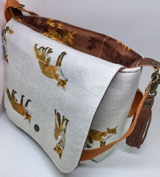 Angie Inside - Customer Creations - Good to Go Messenger Bag - Andrie Designs