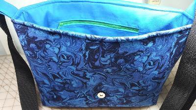 Betty Inner - Customer Creations - Good to Go Messenger Bag - Andrie Designs