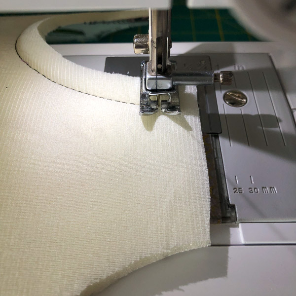 Checking Seam - Stitching Curves - Andrie Designs