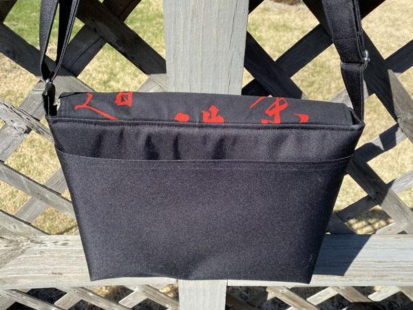 Karen - Inner - Customer Creations - Good to Go Messenger Bag - Andrie Designs
