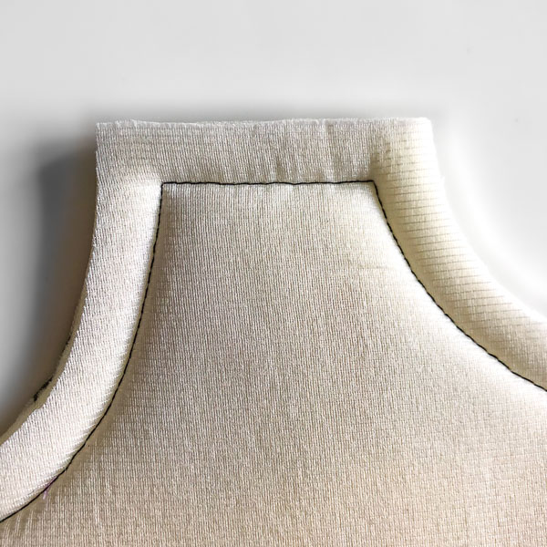 Stitched with estimating seam - Stitching Curves - Andrie Designs