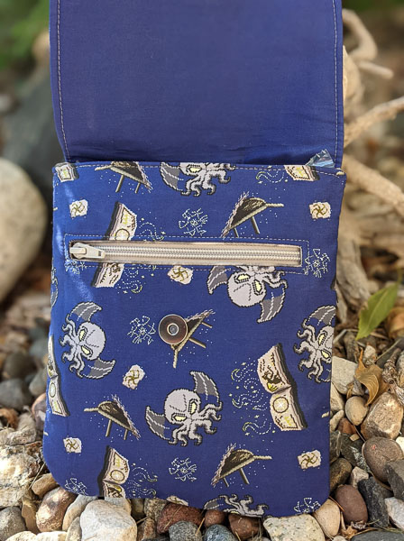 Zipper Pocket on Kerry's Polly Crossbody Pouch - Customer Creations - Andrie Designs